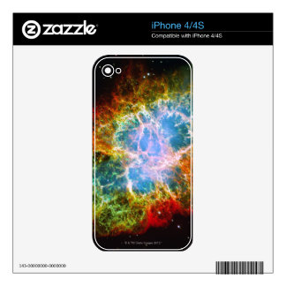 Crab Nebula iPhone 4S Decal