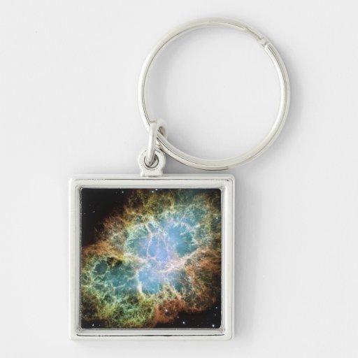 Crab Nebula Keychains