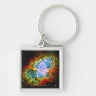 Crab Nebula Keychain