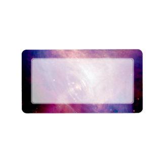 Crab Nebula Label