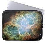 Crab Nebula Laptop Bags/Sleeves Laptop Computer Sleeve