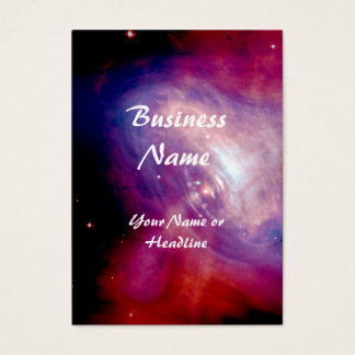 Crab Nebula NASA Business Card