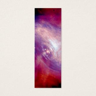 Crab Nebula NASA Mini Business Card