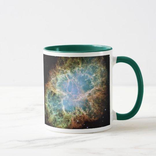 Crab Nebula NASA Mug