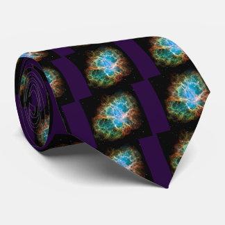 Crab Nebula Neck Tie