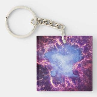Crab Nebula NGC 1952 Keychain