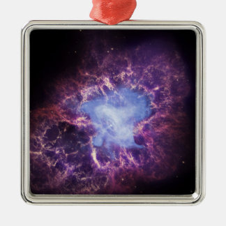 Crab Nebula NGC 1952 Metal Ornament