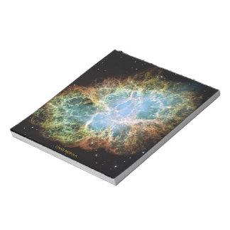 Crab Nebula Memo Pad