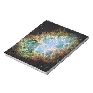 Crab Nebula Memo Note Pads