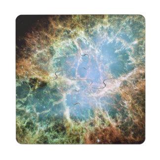 Crab Nebula Puzzle Coaster