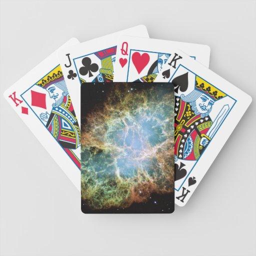 Crab Nebula Playing Cards