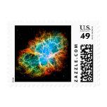 Crab Nebula Postage Stamp