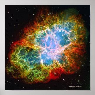 Crab Nebula Poster