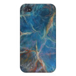 Crab Nebula Space Painting Print Covers For iPhone 4