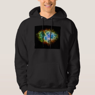 Crab Nebula Star Space Cloud Hooded Pullover