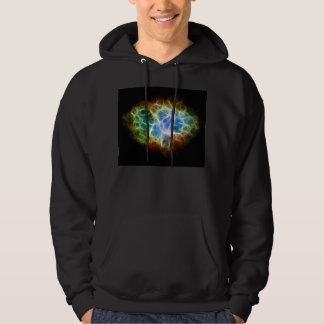 Crab Nebula Star Space Cloud Hoodie
