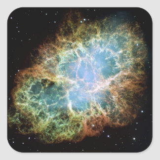 Crab Nebula Sticker