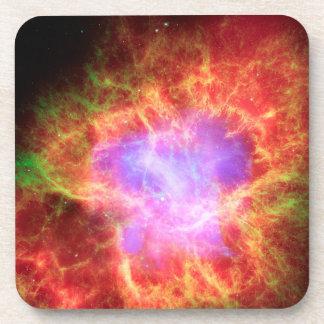 Crab Nebula Superdense Neutron Star Drink Coaster