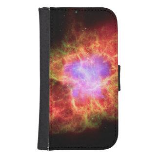 Crab Nebula Superdense Neutron Star Phone Wallet