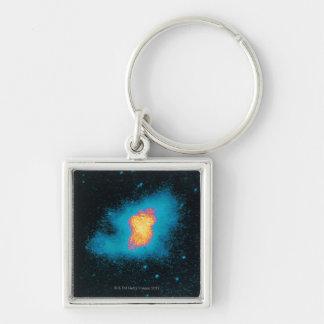 Crab Nebula Supernova Keychain