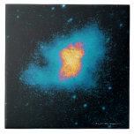 Crab Nebula Supernova Large Square Tile