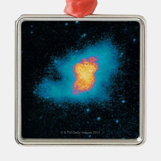Crab Nebula Supernova Metal Ornament