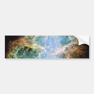 Crab Nebula Supernova NASA Bumper Sticker