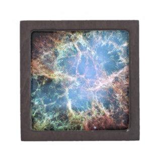Crab Nebula Supernova NASA Jewelry Box