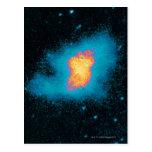 Crab Nebula Supernova Postcard