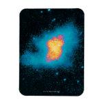 Crab Nebula Supernova Rectangle Magnets