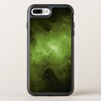 Crab Nebula, Supernova Remnant, Green Light OtterBox Symmetry iPhone 8 Plus/7 Plus Case