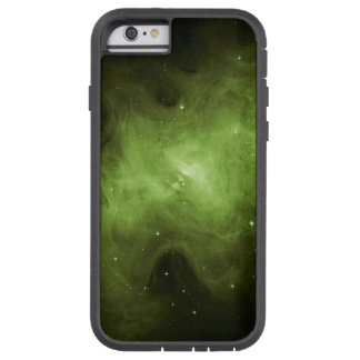 Crab Nebula, Supernova Remnant, Green Light Tough Xtreme iPhone 6 Case
