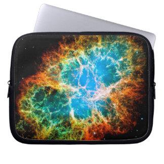 Crab Nebula Supernova Remnant Hubble Space Photo Laptop Sleeve