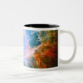 Crab Nebula Two-Tone Coffee Mug