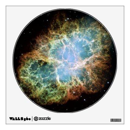 Crab Nebula Wall Stickers
