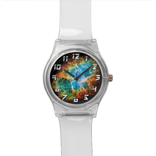 Crab Nebula Wrist Watch