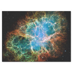 Crab Nebulae Space Astronomy Science Photo Tissue Paper
