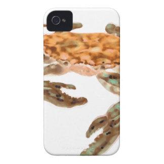 Crab on Beach iPhone 4 Case-Mate Cases