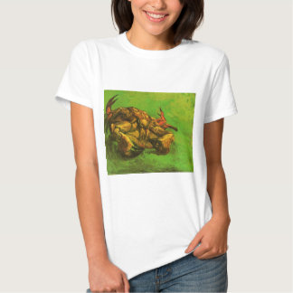 Crab on It`s Back by Vincent van Gogh T-shirt
