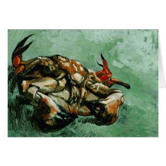 Crab on Its Back (F605) Van Gogh Fine Art Card