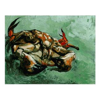 Crab on Its Back (F605) Van Gogh Fine Art Postcard