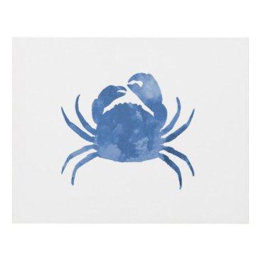 Beach Themed Crab Panel Wall Art