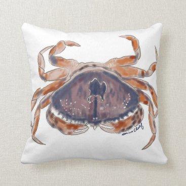 Beach Themed Crab pillow