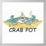 Crab Pot Print