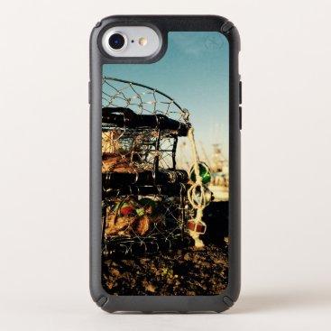 crab pot speck iPhone case