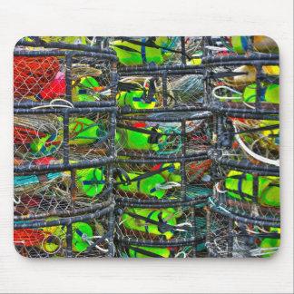 Crab Pots Mousepad