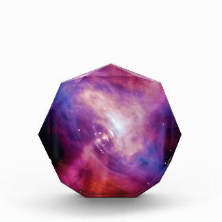 Crab Pulsar Time Lapse - Neutron Star Acrylic Award