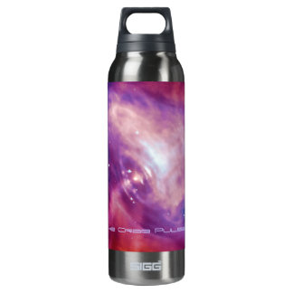 Crab Pulsar Time Lapse - Neutron Star Insulated Water Bottle
