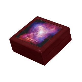 Crab Pulsar Time Lapse - Neutron Star Keepsake Box
