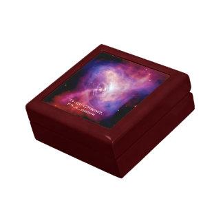 Crab Pulsar Time Lapse - Neutron Star Keepsake Box